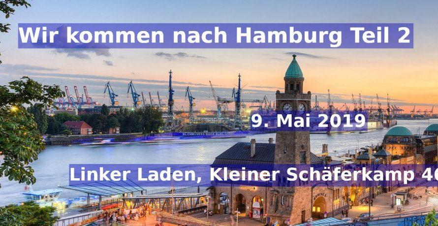 Wir kommen nach Hamburg Teil 2!