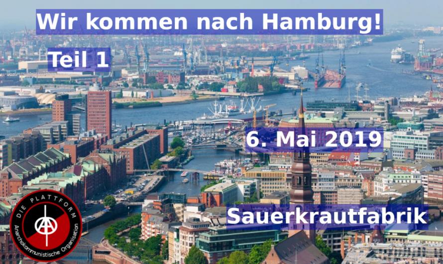 Wir kommen nach Hamburg Teil 1