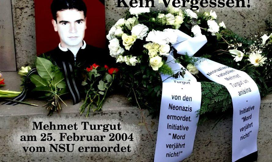 Todestag von Mehmet Turgut
